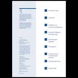 Einlegeblätter für das Hebammen-Kompetenzprofil als PDF-Formular