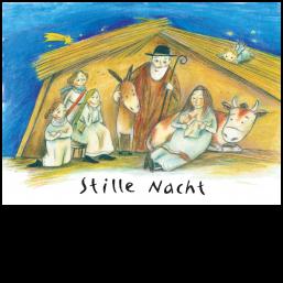 """Weihnachtskarte """"Stille Nacht"""""""