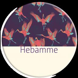 """Hebammenbutton """"Störche"""""""